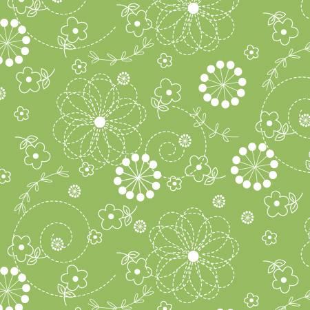 Green Doodles Kimberbell