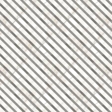 Cream Diagonal Stripe
