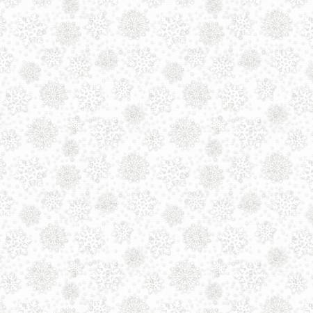 Snowy Wishes Light Grey Snowflakes 82574-191