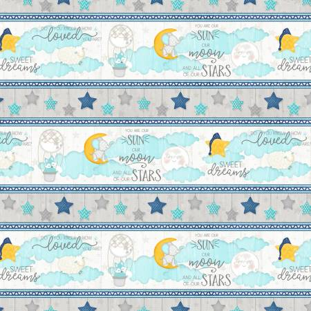 Multi All Our Stars Repeating Stripe WP082120