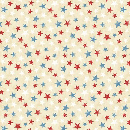 America, My Home - Stars on Cream