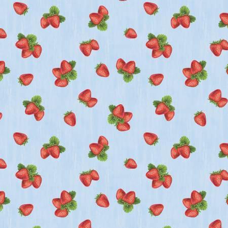 The Berry Best-Light Blue Strawberries