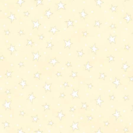Fabric Henry Glass Cream Starry Basic