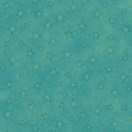 Teal Starry Basics