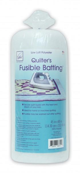 Batting Fusible Low Loft 45in x 60in 3ct