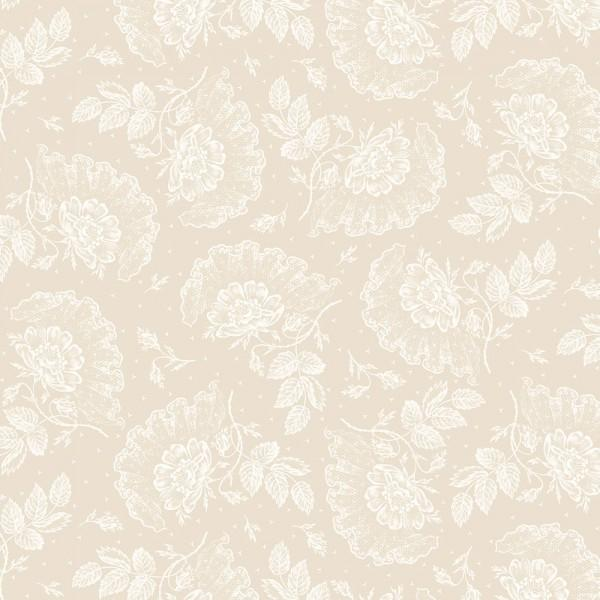 Ecru Lace & Roses