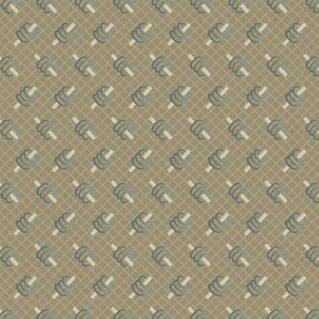 Marcus 8388-0588 Tan Spools Reproduction Print