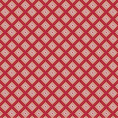 Red Lovely Lattice