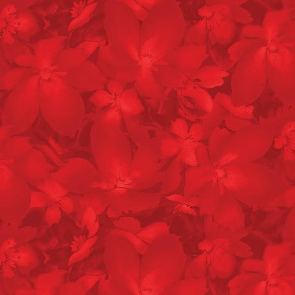 Catalina - Red Tonal Blossoms