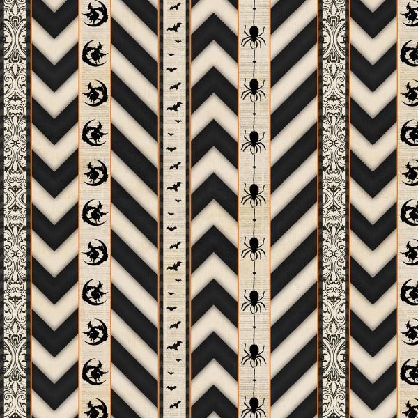 Ivory Ticking Stripe
