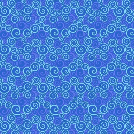 Catmosphere Blue Swirls