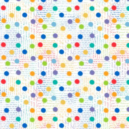 White Rainbow Spots