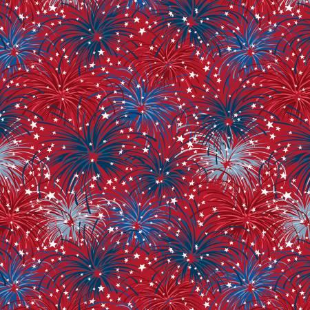 Liberty Lane Red/Blue Fireworks