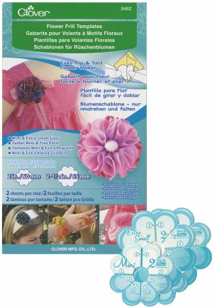 Flower Frill Mini and Extra Small Sizes Template