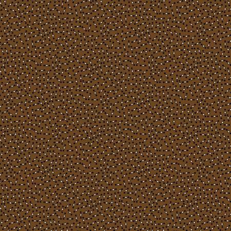 Chatham Row - Brown Dots