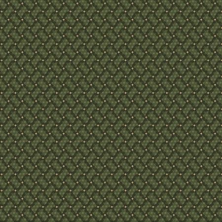 Green Waving Stars Reproduction 8499-0114
