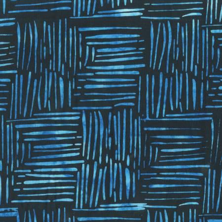 ANTHOLOGY 849Q-1 Dash Batik, indigo