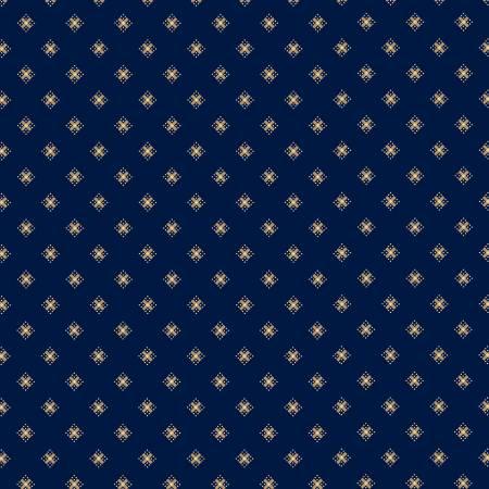 Marcus 8501-0110 Dark Blue Hot Cross Buns Reproduction