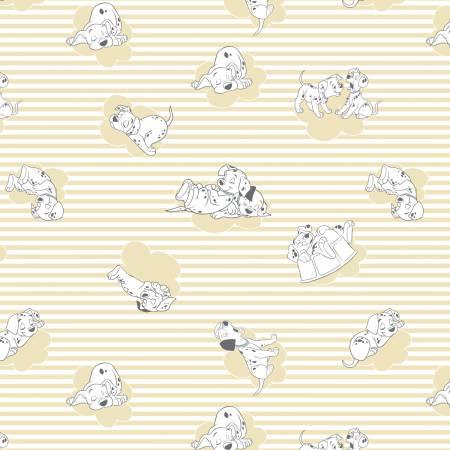 101 Dalmatians Strips & Clouds  85010102-2