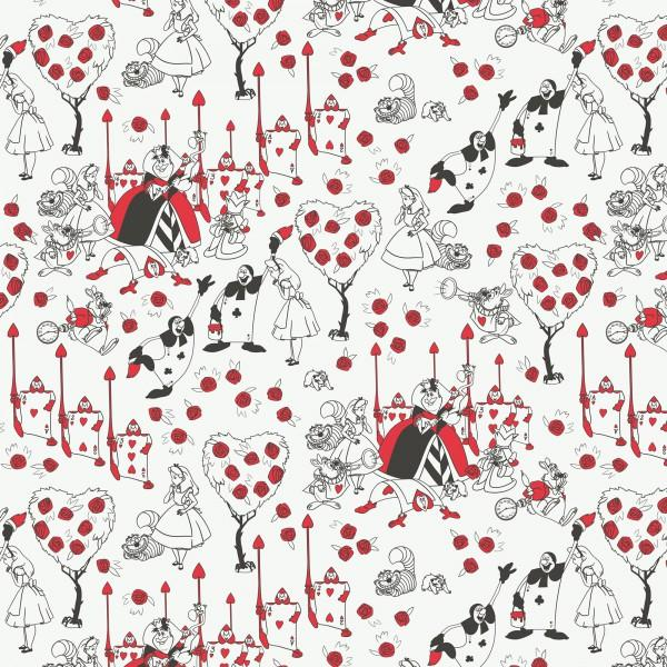Alice in Wonderland Painting the Roses Red 85020106-2