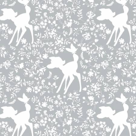 Bambi Silhouette - Grey - 85040105-3