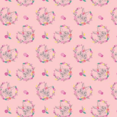 Disney -  Thumper -  Floral heart