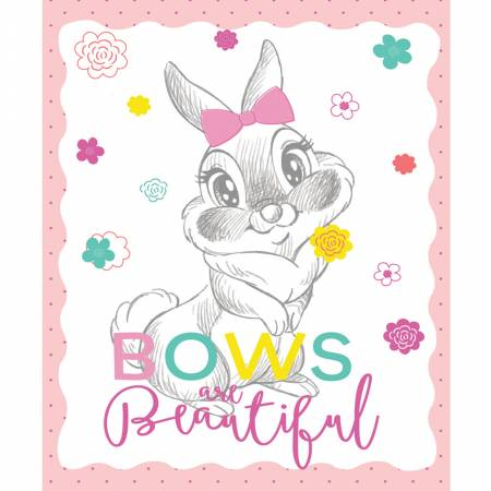 Disney -  Thumper -  Bows Beautiful Panel