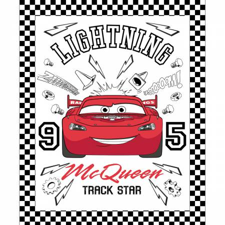 Disney Pixar Cars Color Me panel
