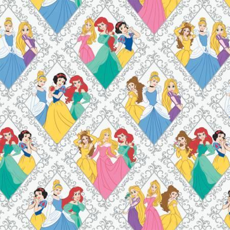 Disney Princess Fabric Stone Diamonds