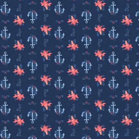 Little Mermaid Sebastian & Anchor Navy Disney