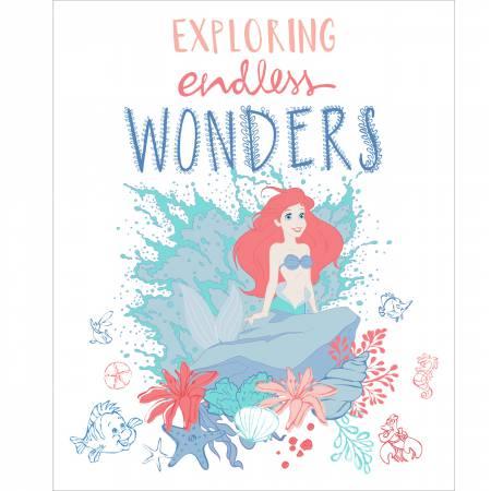 Disney Little Mermaid Endless Wonders Panel 36 -  50% OFF!