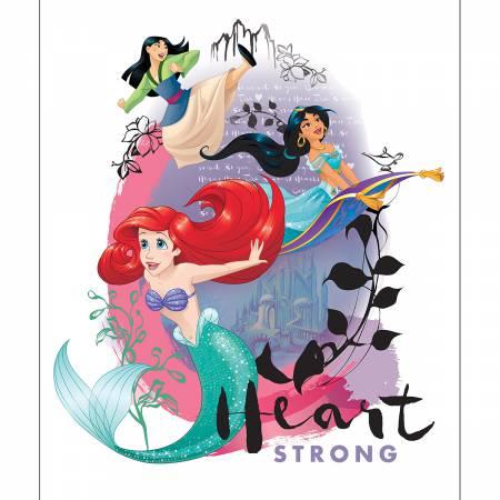 Disney Princess Heart Strong Panel