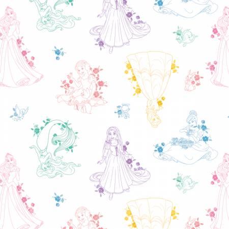 Multi Disney Princess Toile