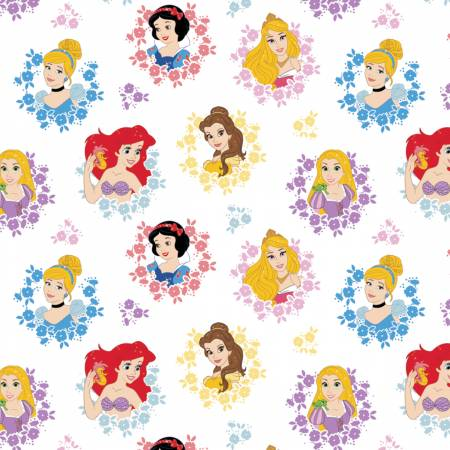 Multi Disney Princesses In Wreaths