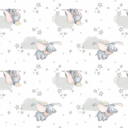 Sentimental  Dumbo in the Sky White