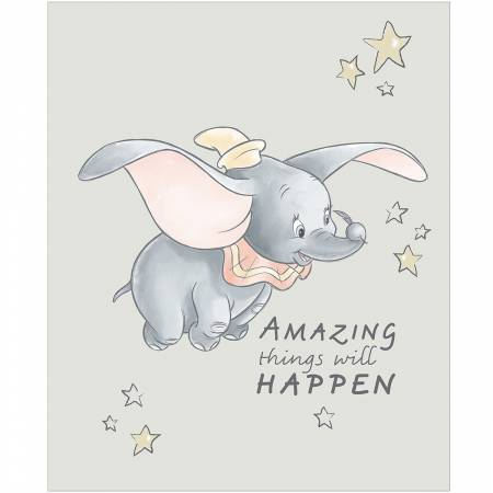 Sentimental Light Grey Dumbo Panel