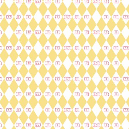Yellow Dumbo Vintage Argyle