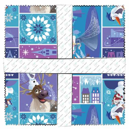 10in Squares Olaf's Frozen Adventure 42pcs