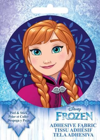 Disney Frozen - Anna - Adhesive Fabric 3in Badge