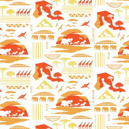 The Lion Guard Savannah - Orange - 85250105-6