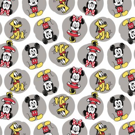 Camelot - Disney Mickey Minnie Pluto Flannel