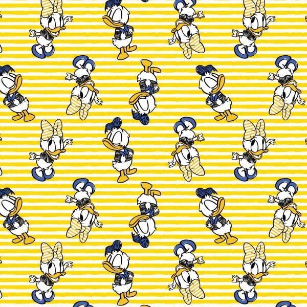 Daisy & Donald in Sunshine Yellow