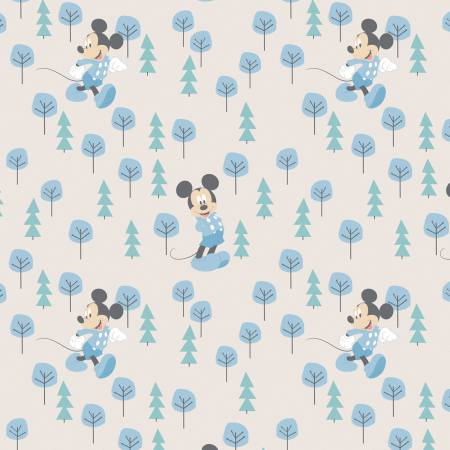 Disney Mickey in the Meadow Flannel
