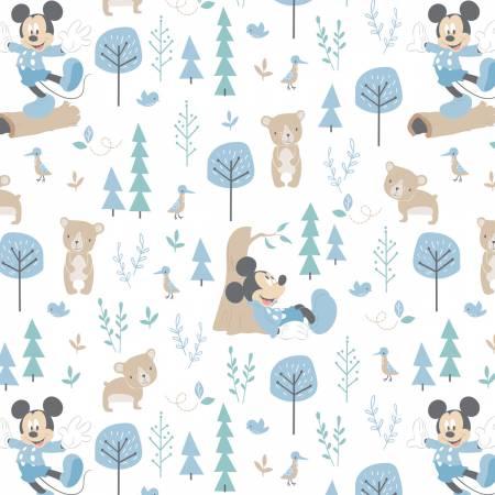 Blue Disney Little Bear