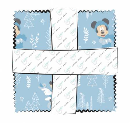 5in Squares Disney Little Meadow 42pcs/bundle