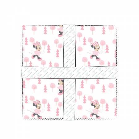10in Squares Disney Little Meadow 42pcs/bundle
