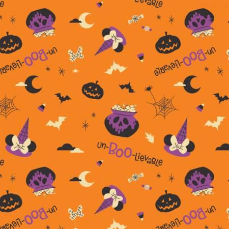 Character Halloween - Orange Halloween Un-Boo-Lievable