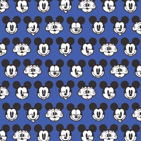 Blue Disney Mickey Expressions