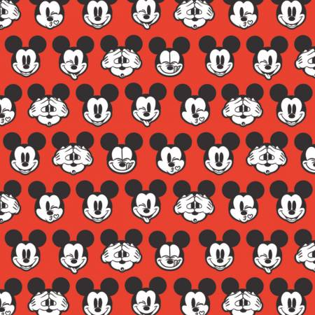 It's a Mickey Thing : Disney Mickey Expressions Red - #85271005-03