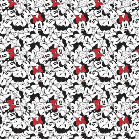 Minnie Mouse Dreaming in Dots  Tossed Stack White 85271010-01